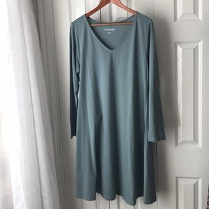 ✨LIKE NEW✨ SO SOFT Cotton T shirt knit Dress XL